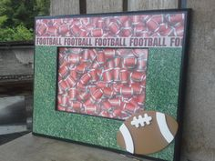 Check out this item in my Etsy shop https://www.etsy.com/listing/197489997/football-football-football-sports-frame