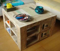Steigerhout met sloophout salontafel | mynt synt | de Steigeraar