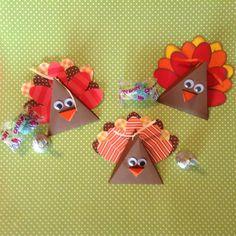 Triangle Turkey Treat Holder