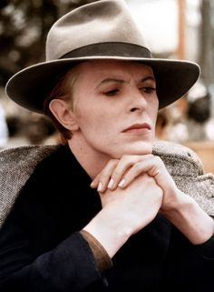 David Bowie as Thomas Jerome Newton in The Man Who Fell To Earth (1976)