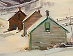 January 22, 2013 A Closer Look At Aldro Hibbard's Houses! | Plein Aire in Maine