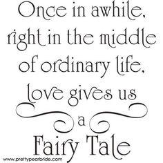 Motivation Mondays: Everyone Gets a Fairy Tale | Pretty Pear Bride