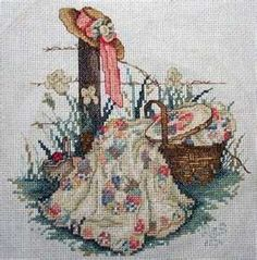 Paula Vaughn- one of my favorites. stitched this a long time ago.
