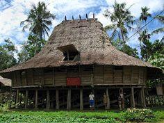 Nias Traditional house - Sumatera