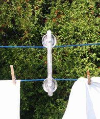 how to make a double pulley clothesline