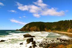 Oregon print. Beach photography. Ocean print. by TheCozyOwlsNest, $24.00