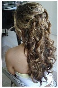 Prom Hairstyles Down Interesting 8 Cute Waterfall Twist Tutorial Long Hairstyles Ideas  Long