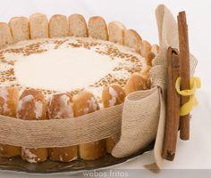 Receta de de tarta de horchata, muy sencilla, se toma semifría y es estupenda para cualquier celebración