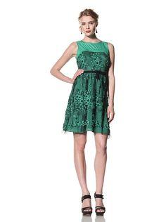 Eva Franco Women's Eliza Fit & Flare Lace Dress at MYHABIT