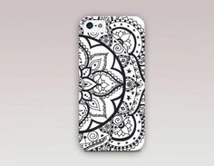 Lotus Mandala Phone Case For - iPhone 6 Case - iPhone 5 Case - iPhone 4 Case - Samsung S4 Case - iPhone 5C