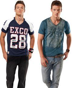 Coleção Verão 2012 da Exco-Oil retrata o rugby e o futebol americano