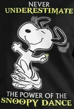 My favorite Snoopy, Dancing Snoopy. Charlie Brown Quotes, Charlie Brown And Snoopy, Peanuts Cartoon, Peanuts Snoopy, Snoopy Love, Snoopy And Woodstock, Peanuts Characters, Cartoon Characters, Snoopy Pictures