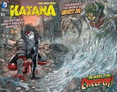 Katana #3 I didn't see what happened in this issue coming.
