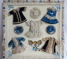 French Antique Little Mignonette Doll Biscuit in Its Case Trousseau   eBay