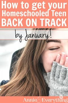 Is your teen behind their homeschool schedule? This is common when homeschooling high school. Get ideas to get your student back on track with as little pain as possible!