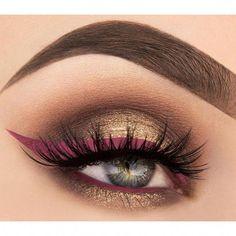 Colorful Eye Makeup, Eye Makeup Art, Eyeshadow Makeup, Beauty Makeup, Eyeliner, Hair Makeup, Airbrush Makeup, Eyeshadows, Beauty Care