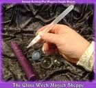 Image of Selenite Scribing Pen Wand for Candle Magick (ED) Wiccan Wands, Magick, Candles, Gemstones, Glass, Pretty, Google, Image, Gems