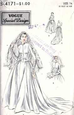 1950s Wedding Gown or Bridesmaid Dress