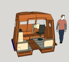 Building a tiny house boat from plywood and epoxy Building A Tiny House, Boat Building, Cool Boats, Small Boats, Wood Boat Plans, Hatchback Cars, Trolling Motor, Boat Projects, Boat Stuff