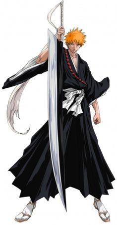 Ichigo/Bleach- ooo its been so long since i've seen this show i dont remember what episode i was on... oh well have to start from season one first episode! ^^