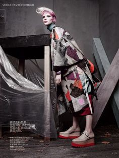 #SashaLuss by #SolveSundsbo for #VogueChina October 2014