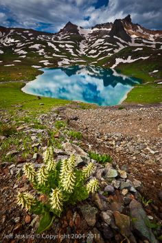 Upper Ice Lake Basin near Silverton, Colorado