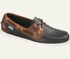two tone boat shoes. not these, but possibly something like them