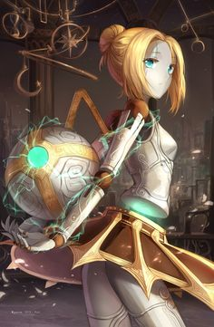 "Orianna - League of Legends - One of the best teamfight champions. Her ""lore"" is pretty interesting too..."