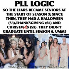 // Happy // Preety Little Liars, Pretty Little Liars Quotes, Pll Memes, Pll Quotes, Funny Memes, Pll Logic, The Best Series Ever, Tv Show Games, Grey Anatomy Quotes