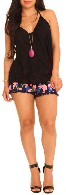 Shoptrendyonline lovely floral shorts