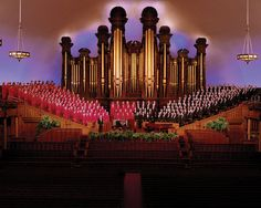 Find the MORMON TABERNACLE CHOIR in our catalog: http://highlandpark.bibliocommons.com