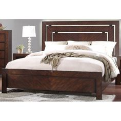 Legends Furniture City Lights Low Profile Bed