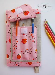 Sketch book pattern and tutorial by Charise Creates