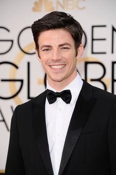 Grant Gustin arrives at The 73rd Annual Golden Globe Awards 1/10/16  grantgust: Very cool night. Such an honor to present at the Globes. I sleepyyyy…