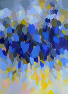 Samia Halaby, Blue Landscape, x 122 cm. Courtesy the artist and Ayyam Gallery. Texture Art, Texture Painting, Abstract Paintings, Abstract Art, Traditional Paintings, Contemporary Paintings, Chip Art, Galleries In London, Generative Art