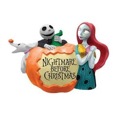 Nightmare Before Christmas Pumpkin Nightmare Teapot - Westland Giftware - Nightmare Before Christmas - Dining and Entertaining at Entertainment Earth