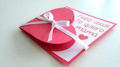Porque las madres se merecen todo y más, prepara esta emotiva tarjeta con corazón para el día de la madre. ¡Ya se acerca!