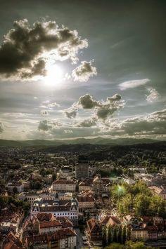Ljubljana, from Slovenija moja dežela