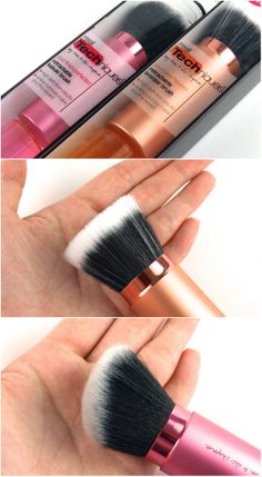 Real Techniques Retractable Kabuki Brush and Retractable Bronzer Brush: Review