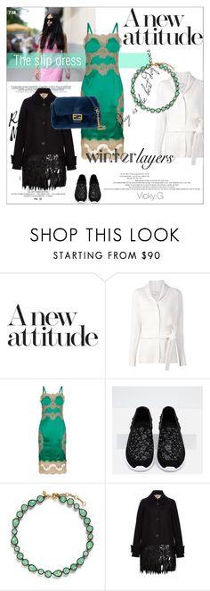 """Set # 738 / Winter Layers: Slip Dress"" by vassiliki-g ❤ liked on Polyvore featuring 3.1 Phillip Lim, Dolce&Gabbana, Zara, J.Crew, N°21, Fendi, women's clothing, women's fashion, women and female"