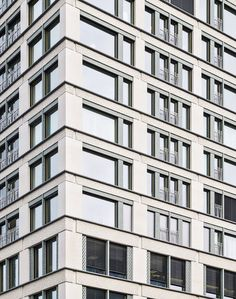Caruso St John Architects, Europaallee Baufeld E, Zurich, CH, 2007–2013.