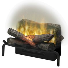 Amazing technology for creating an electric log set, plus it has a heater