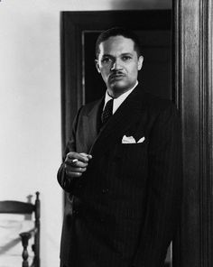 Todd Duncan, the pioneering opera singer, circa 1930s. Mr. Duncan was the first African-American to perform with a major opera company, the New York City Opera. Other career highlights include being selected by George Gershwin to originate the role of Porgy in Porgy and Bess and being the first person to record the now classic song, Unchained Melody. Mr. Duncan also held a masters degree from Columbia University and taught voice at Howard University for over fifty years, well into his 90s