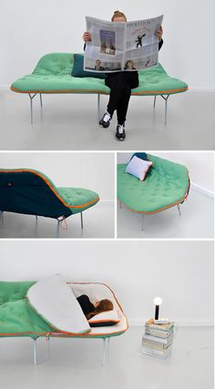 Camp Daybed by Stephanie Hornig.