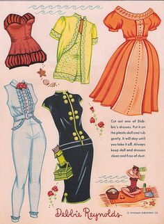 Page One of Debbie Reynolds Clothes | Flickr - Photo Sharing!