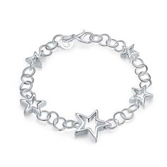 silver plated jewelry bracelet fine fashion bracelet and retail SMTH178