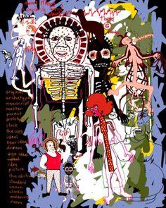 Gordon Bennett Quot Outsider Quot 1988 Art215 Australian Art