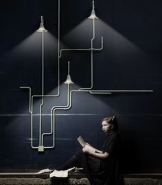 make a virtue of electrical workings Light Forest / Ontwerpduo Pictures  [delete from int.design]