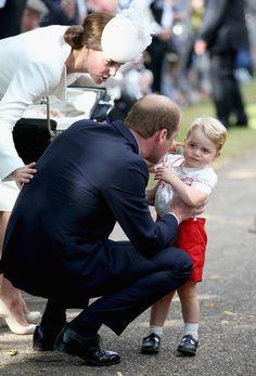 Kate Middleton Photos - The Christening of Princess Charlotte of Cambridge - Zimbio