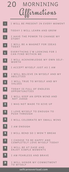 Self-Care Tips - Quote Positivity - Positive quote - Daily affirmations can provide a positive mood for your entire day. Improve self-love by speaking positive words to yourself on a daily basis. The post Self-Care Tips appeared first on Gag Dad. Vie Positive, Affirmations Positives, Affirmations For Women, Positive Affirmations Quotes, Self Love Affirmations, Affirmation Quotes, Positive Mantras, Positive Self Talk, Christian Affirmations
